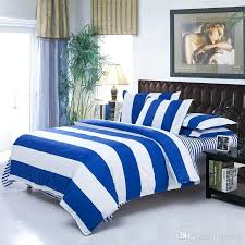 blue striped bedding bedding e white sets cobalt comforter set on bedroom fabulous dream and queen
