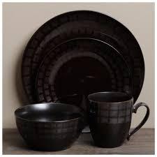 black contemporary dinnerware sets  modern contemporary