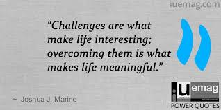 Life Challenges Quotes Interesting 48 Motivating Quotes To Push You Through Any Challenge In Life