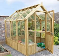 8 x 6 grow plus vale wooden greenhouses