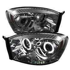 Halo Lights For 2006 Dodge Ram Amazon Com Spyder Auto 5041968 Ccfl Halo Projector