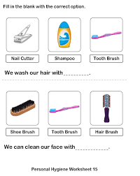 Personal Hygiene Worksheets For Kids Collection 9-16   Personal ...