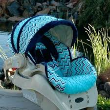 infant boy car seat cover custom baby car seat cover blue chevron custom infant car seat