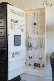 diy jewelry holder wood