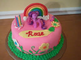 my little pony cakes decoration ideas