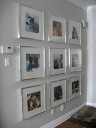 large silver framed wall pictures