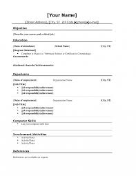 Resume Education Coursework Academic Awards Achievements For High
