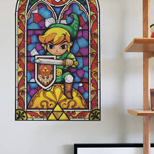 wall decals open a window to the legend of zelda the wind waker hd polygon
