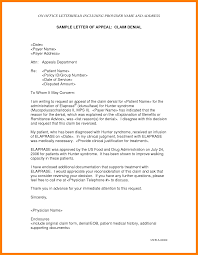 Letters Of Appeal Letters Of Appeal Barca Fontanacountryinn Com