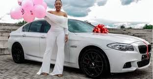 Best birthday ever': Dan Lu gifts lover Katerina luxurious BMW car | Malawi  Nyasa Times - News from Malawi about Malawi