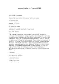 appeal letter to financial aid hashdoc vtzbwubi va appeal letter sample