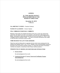 board of directors minutes of meeting template 12 board of directors meeting agenda templates free sample