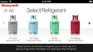 Honeywell Refrigerant Chart Honeywell Refrigerant P T Chart Eu Fridgehub