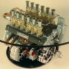 learn me making an engine coffee table