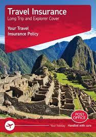 travel insurance post office