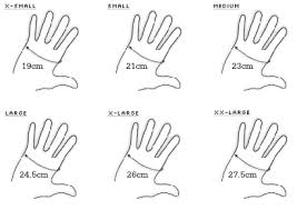 Diving Gloves Size Chart Sizing One Breath Diving Spearfishing Online Specialists