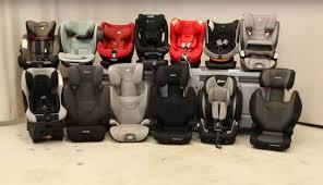Cinco sillas para llevar el bebé en el coche suspenden un test de seguridad