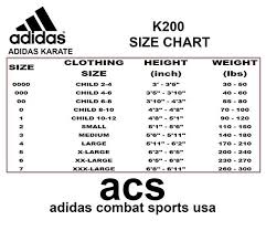 Adidas Karate Kids 7oz