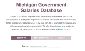 salary information government transparency groups announce database of public employee