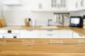 kitchen table background hd. wooden table with blurred kitchen background royalty-free stock photo hd