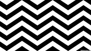 HD Black and White Zebra Chevron Pattern Wallpaper