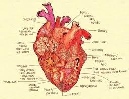 Anatomy Of The Heart Chart Heart Chart Heart Diagram Heart Anatomy Heart Art