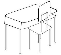teacher desk clipart black and white.  Desk Clip Art Of Student Desk Chair And SetI Am Definitely Not A Clip  Specialist But I Did Make These 3 Images Black White With Clear  And Teacher Desk Clipart Black White