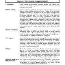 Forklift Job Description For Resume Sample Resume For Forklift Operator Forklift Driver Resume Samples 21