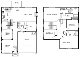2 y house floor plan two y house plans 4 bedroom two story house plans 4