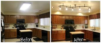 led track lighting for kitchen. Track Lights For Kitchen \u2013 Marvellous Schönheit Led Lighting Before After 2 9263 I