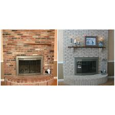 before and after transform your fireplace not just for brick fireplaces