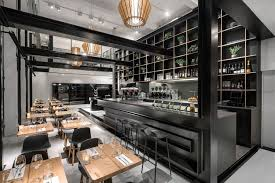 coffee bar. Sparkling Coffee Bar And Restaurant Takes Shape Inside An Old Paint Factory P
