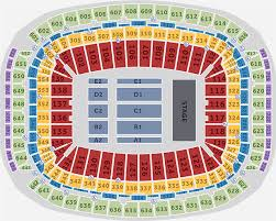 Nrg Concert Seating Chart 57 Timeless Reliant Stadium Seating Chart
