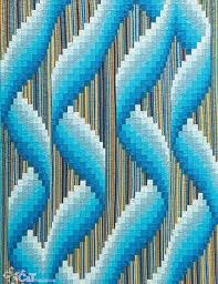 161 best bargello images on Pinterest | Bargello quilts, Bargello ... & Bargello Wave Quilts - love the Bargello look, and want to make this style  of Adamdwight.com