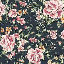 Marley Dark Floral Wallpaper