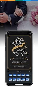 Wedding Card Name Sticker Design Wedding Invitation Maker Design Wedding Invitations Online