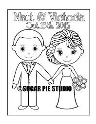 color me beautiful book free exciting bride coloring pages free zoom personalized printable groom wedding party favor kids