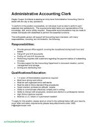 Resume Accounting Clerk Cover Letter For Accounts Payable Job Luxury