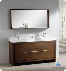 modern double sink bathroom vanities. Perfect Sink Picture Of Fresca Allier 60 Throughout Modern Double Sink Bathroom Vanities