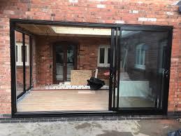 triple track sliding patio door sliding doors ideas