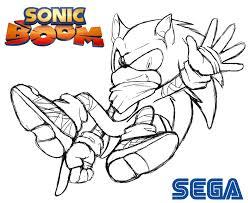 Small Picture Sonic Boom Coloring Pages And itgodme
