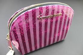 glitter victoria s secret and makeup bag image
