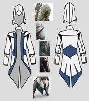 Assassins Creed Costume Pattern Custom Assassin's Creed Sewing Patterns Top Assassin's Creed Hood Sewing