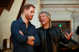 Bon jovi is an american hard rock band from sayreville, new jersey. Hear Jon Bon Jovi S Unbroken Collaboration With Prince Harry