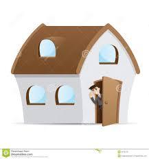 house door clipart. Open Door Clipart House #4