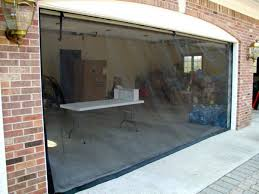 furniture stunning garage door screen 7 panels ideas glamorous garage door screen 22 diy systems
