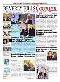 BHCourier 111315 E edition by The Beverly Hills Courier issuu