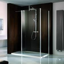 Q Bic Designer 6mm Walk In Shower & Return Panel - HSK1610090 - Main Image