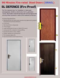Multi-Lock Fire-Proof-Doors