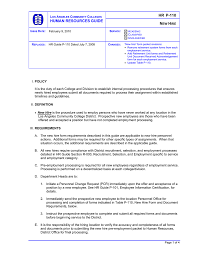 Employee Hire Forms Hr P 110 N H